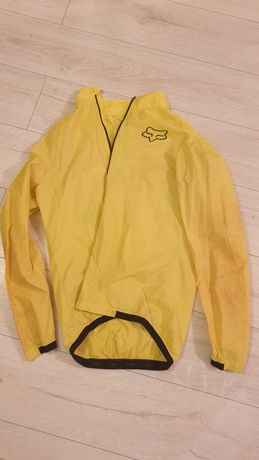 Kurtka rowerowa Fox Attack Wind żółta, rozmiar L