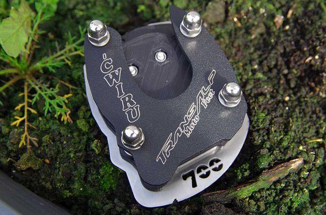 Poszerzenie stopki Transalp XL700V +11mm!