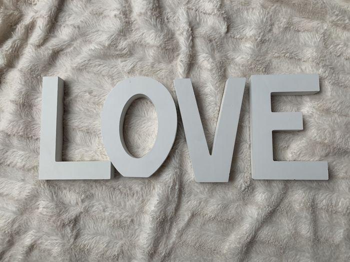 Drewniany napis LOVE Koleczkowo - image 1