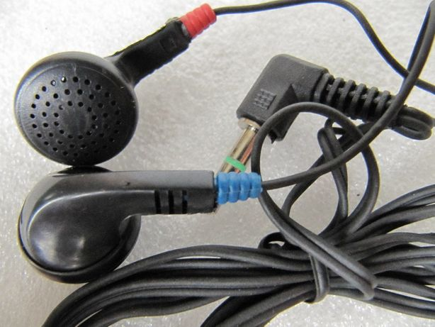 Наушники проводные шнур 1 м, новые, для плееров, MP3, PC, TV