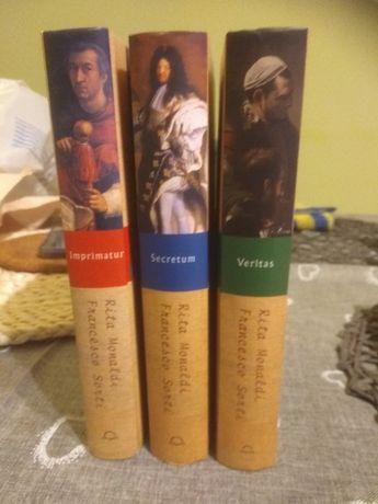 Tryptyk powieści Imprimatur, Secretum, Veritas i muzyka na CD
