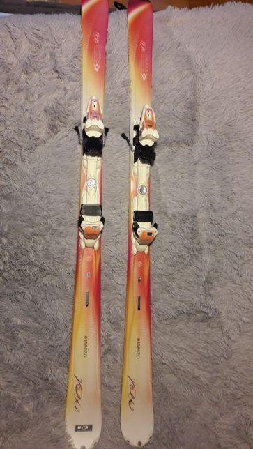 Narty damskie Volkl Essenza Chiara 155cm + wiązania Marker 4 Motion
