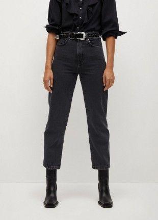 графитные мом джинсы от Асос !