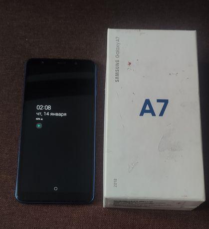 Samsung A7 2018 4/64GB Blue A750