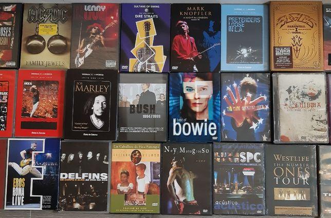 DVD - Bob Marley, Eagles, INXS, Pink Floyd, REM, Santana, Usher, etc.