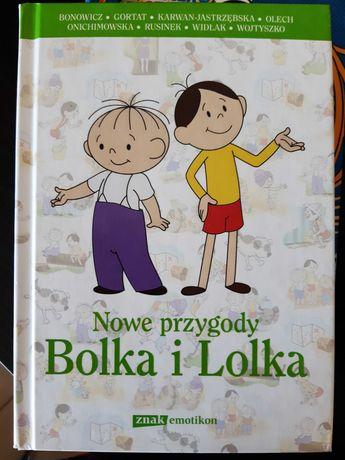 Książka Nowe przygody Bolka i Lolka jak nowa