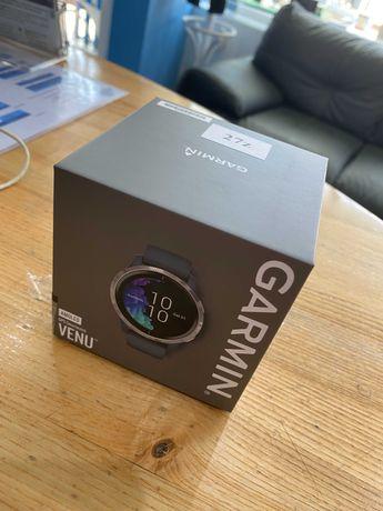 Zegarek sportowy Garmin Venu z GPS, Amoled, muzyką, Garmin Pay, długą