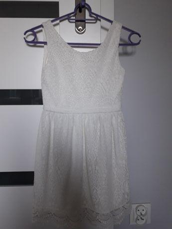 Śliczna sukienka, H&M, rozm.134