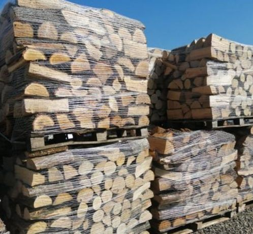 Drewno kominkowe liściaste twarde Mix 180 zł ciasno układamy