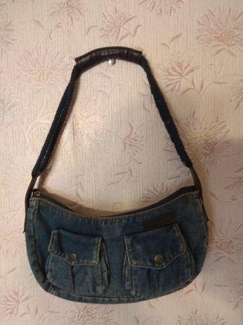 Джинсовая сумка TED BAKER