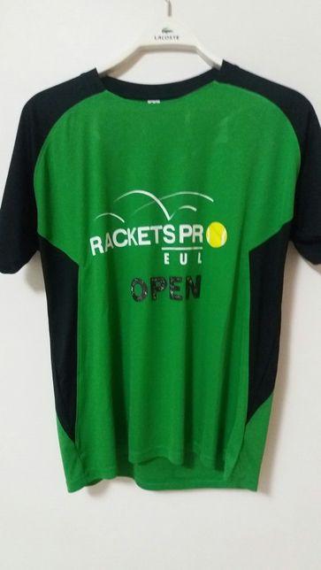 T-Shirt Rackets Pro EUL Open (Ténis)