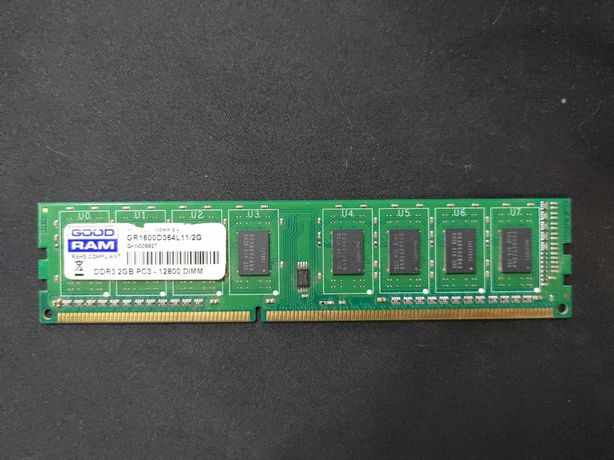 Память для ПК 2Gb DDR3-1600 Goodram GR1600D364L11/2G