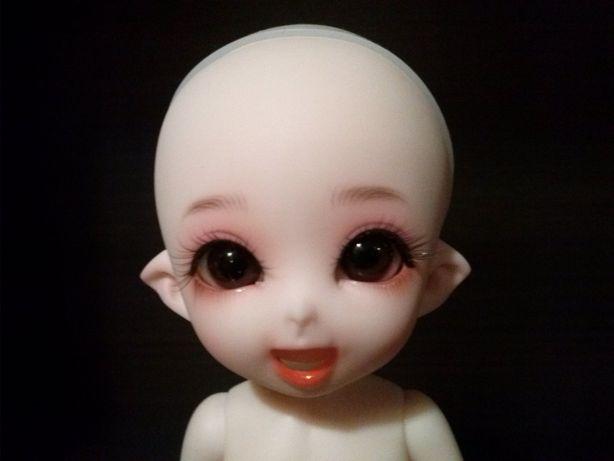 NAGA lalka bjd 1/8 pukifee 2xMAKE-UP!!! +wig