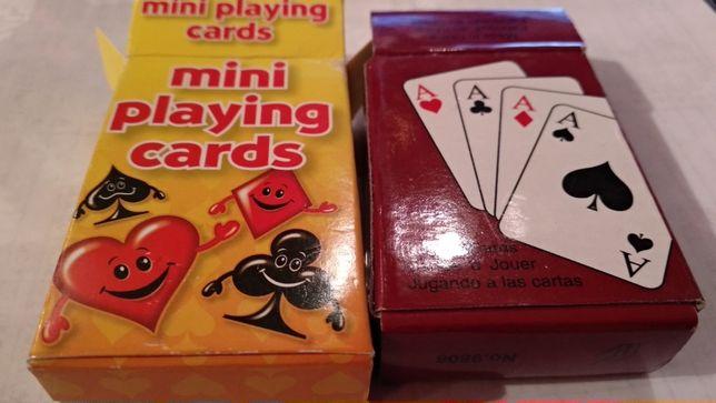 настольные игральные мини карты 2колоды новые из британии качественные