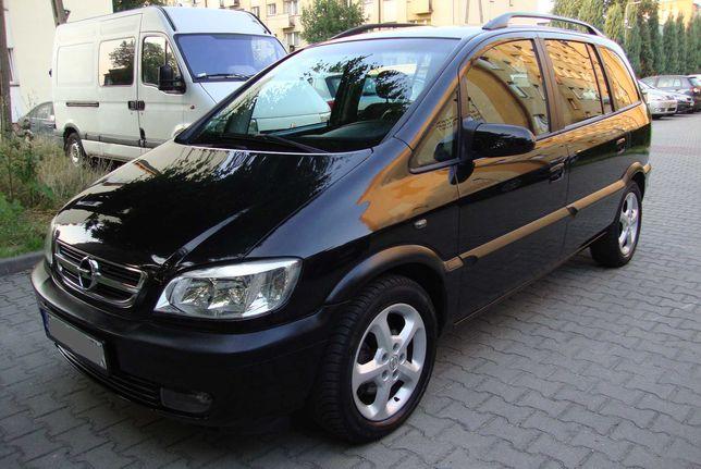 Opel ZAFIRA 1,8, BENZYNA, SUPER STAN, 7-osobowy, Możliwa zamiana