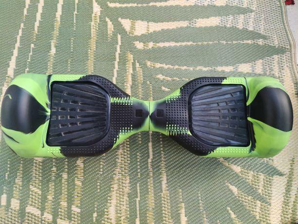 Oryginalny Hoverboard z zielonym casem. Super kolorystyka! eDeskorolka