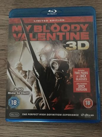 Film blu-ray My Bloody Valentine 3d limited edition z okularami