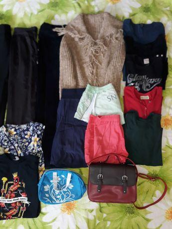 пакет вещей 44/46 штаны кофта футболка шорты сумка реглан блузка косм