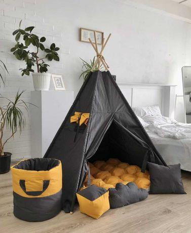 Детский вигвам палатка, домик. В наличии разные расцветки.