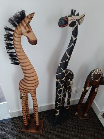 Drewniane zwierzaki