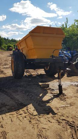 Przyczepa - wozidło 8 ton ładowności