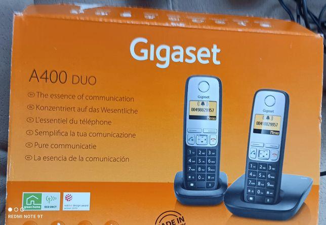 Telefony bezprzewodowe A400 duo