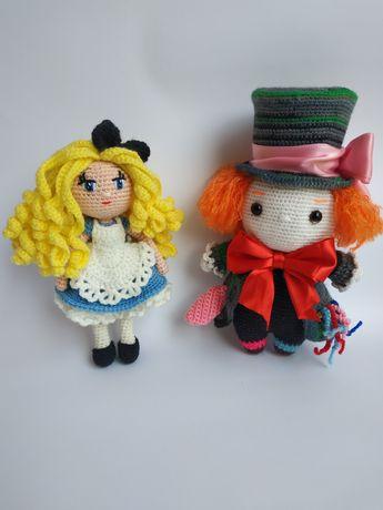 Алиса и шляпник крючком