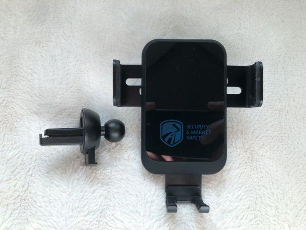 Samochodowy uchwyt do telefonu, ładowarka bezprzewodowa 10W V0350