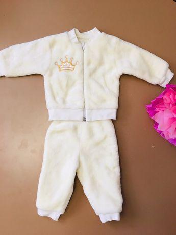 Зефирный костюмчик для девочки