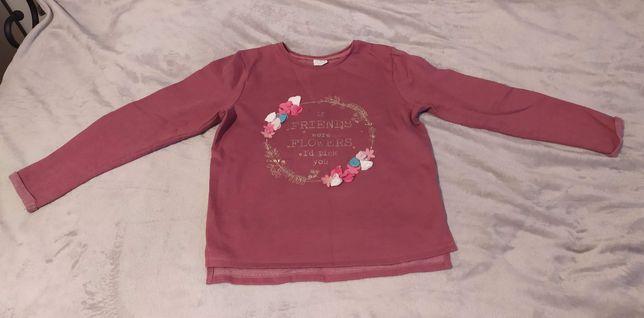 Bluza dla dziewczynki F&F Kids 140 bordowa