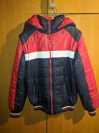 Демисезонная курточка на мальчика 7-8 лет