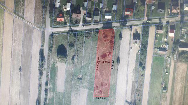 Działka rolno-budowlana Zamiany koło Tomaszowa Lubelskiego