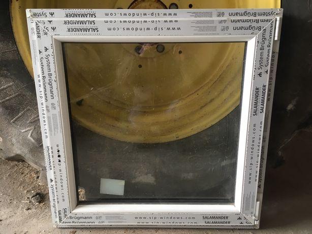 Okno nowe uzywane 90x90, 6 komor, rozwierno uchylane uchylano