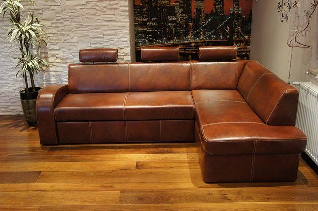 245x164 SKÓRA narożnik sofa rogówka ze skóry skórzany PRODUCENT wybór