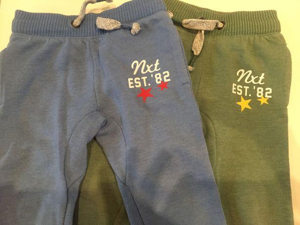 Next spodnie dresy 86 -92