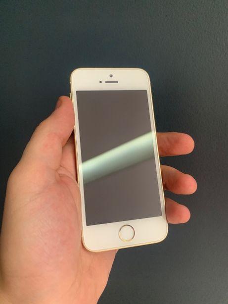 Телефон для работы iPhone Se 16Gb Neverlock, Gold также 5s/6/7/8/X/X