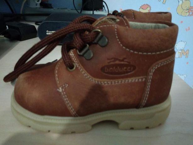 Кожанные ботинки BALDUCCI (Италия) 21 размер