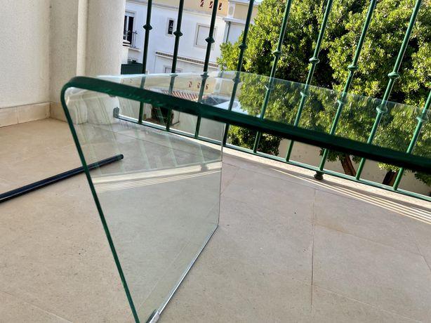Mesa central vidro