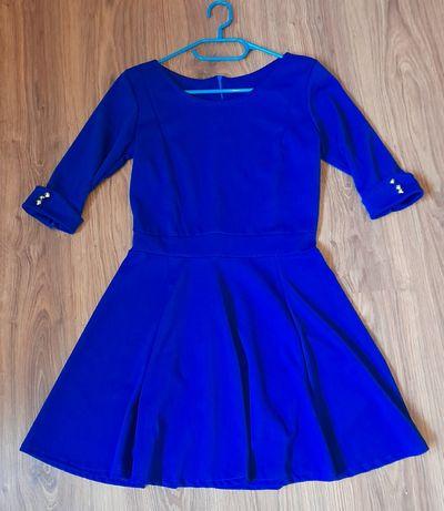 Chabrowa sukienka s