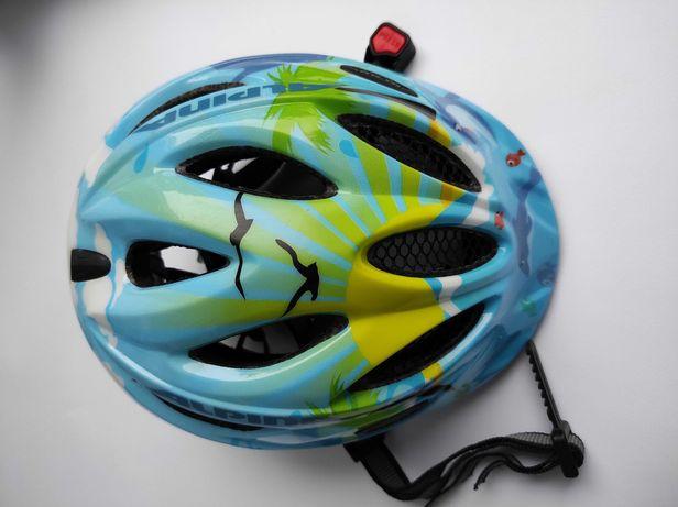 Детский велосипедный шлем Alpina Gamma, размер 46-51см, Германия.