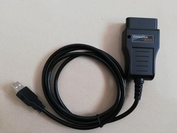 HDS HONDA OBD2 kabel diagnostyczny interfejs A+++ FULL CHIP J2534
