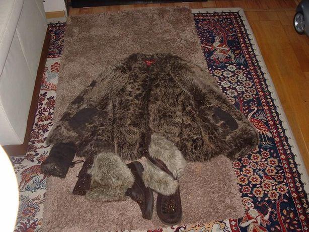 kożuszek kurteczka śniegowce