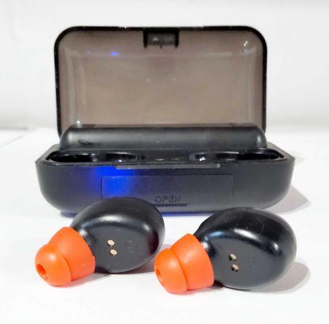 Słuchawki bluetooth ze stacją ładującą