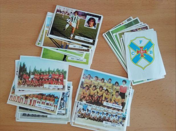 Cromos Futebol em Movimento 80-81