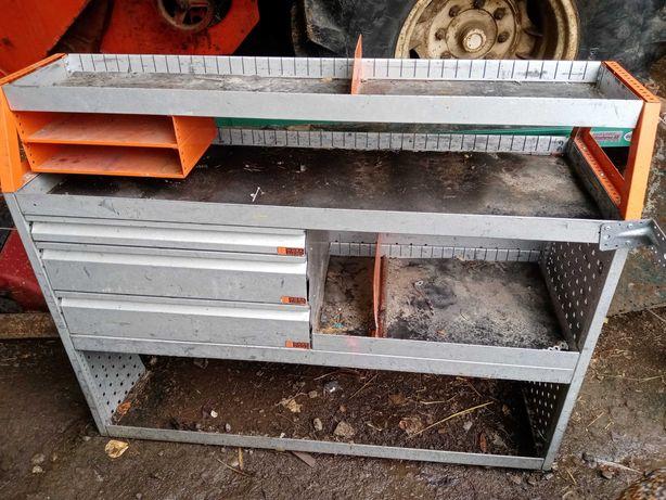 Zabudowa samochodu szafka narzędziowa