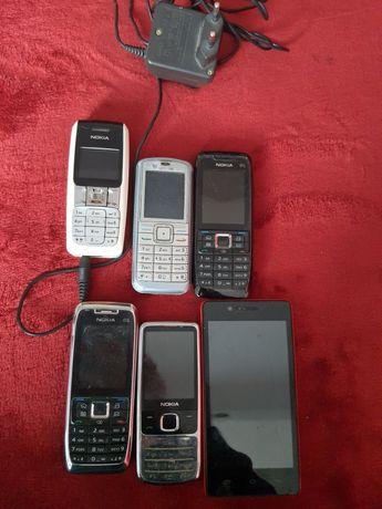 Zestaw telefonów na części