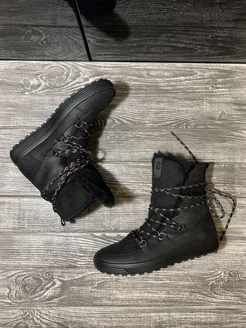 Ботинки женские ecco зима р 37, 38