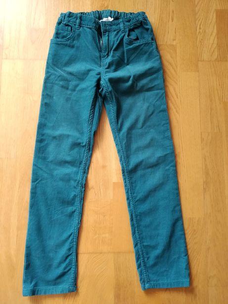 H&M вельветовые брюки 9-10