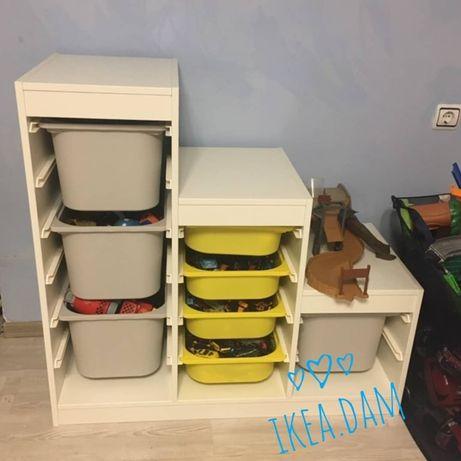Самая ДЕШЕВАЯ Доставка- Стелаж, полка, шкаф для игрушек Trofast ikea.