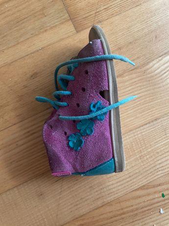 Sandałki dziewczęce Aurelka 22